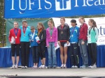 "top ten winners - American, Elva Dryer is the third from the right - all but one of them were ""seeded"" - the girl on the right was the local girl, she came in 10th!"