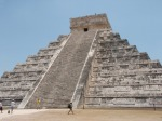 THE famous pyramid - you cannot walk up it anymore!